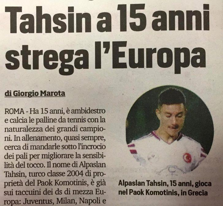 Avrupa 15 yaşındaki Tahsin'i konuşuyor