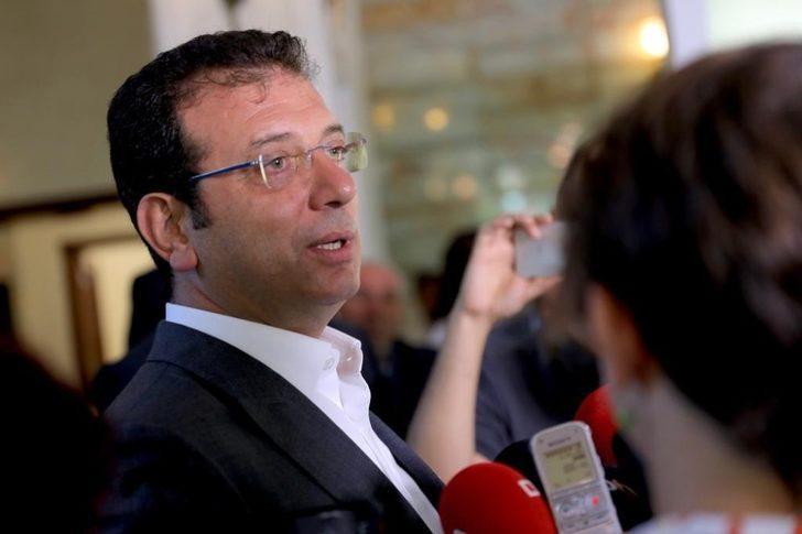 İBB Başkanı İmamoğlu gazetecilerin sorularını yanıtladı