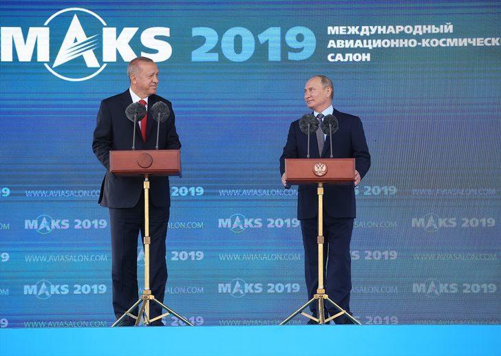Son dakika! Cumhurbaşkanı Erdoğan'dan Rusya'da önemli açıklamalar