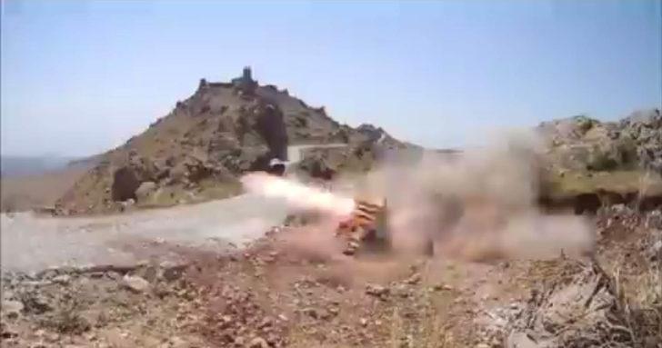 Pençe-3 harekâtında PKK hedefleri böyle vuruldu