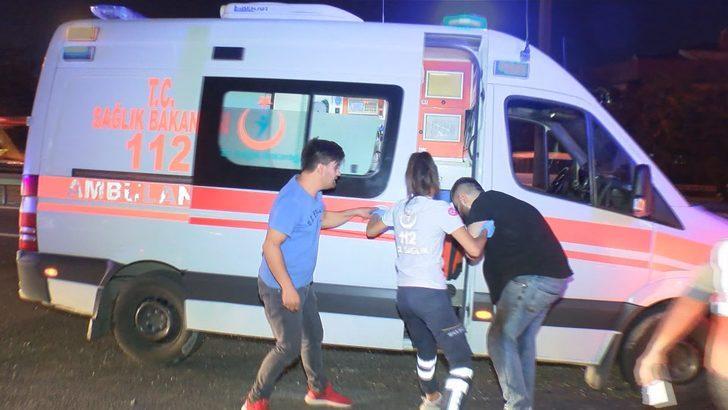 Makas atan otomobil kazaya neden oldu: 4 yaralı (Geniş haber)