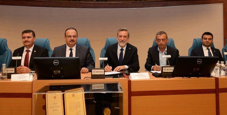 BTSO, Çorlu ve Erzincan TSO ile iş birliği protokolüne imza attı