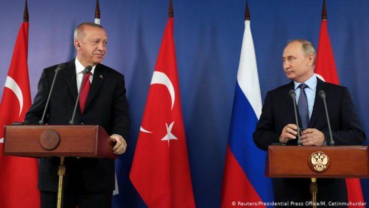 Erdoğan ve Putin'in kritik Suriye zirvesi