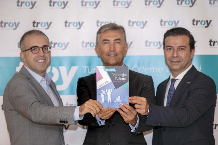 TROY logolu kart adedi 9 milyona ulaştı