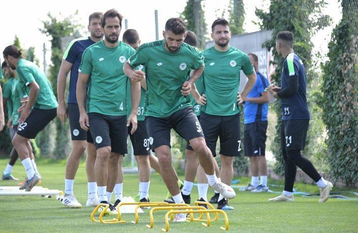 Konyaspor, Antalyaspor hazırlıklarını sürdürüyor
