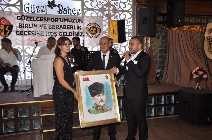 Güzelcespor'a Murat Çelik'ten destek