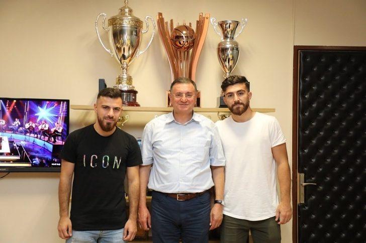 Fenerbahçeli Samed Karakoç ve Abdurrahman Canlı Hatayspor'da