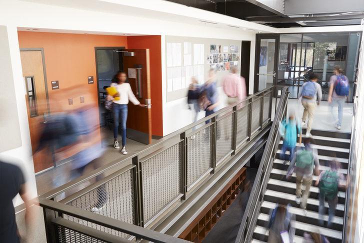 Yüksek güvenlikli okul inşa ediliyor
