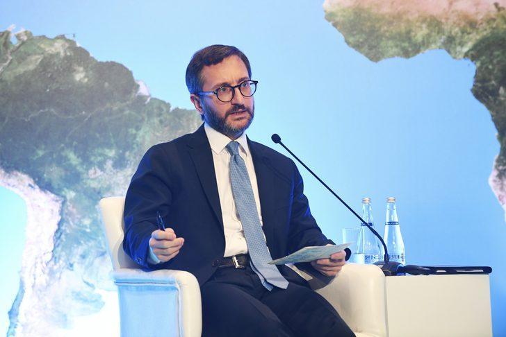 Fahrettin Altun'dan DHA'ya açıklama: 10 bin basın mensubunun kartları teslim edildi