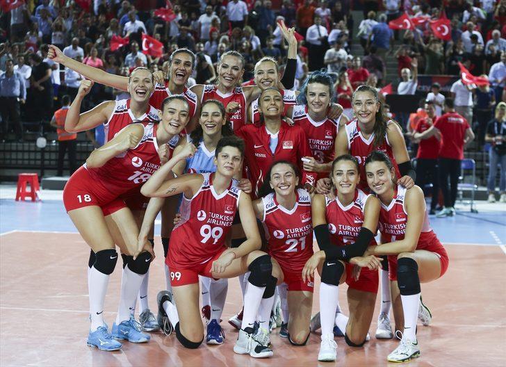 Türkiye 3 - 0 Fransa (2019 Avrupa Kadınlar Voleybol Şampiyonası)