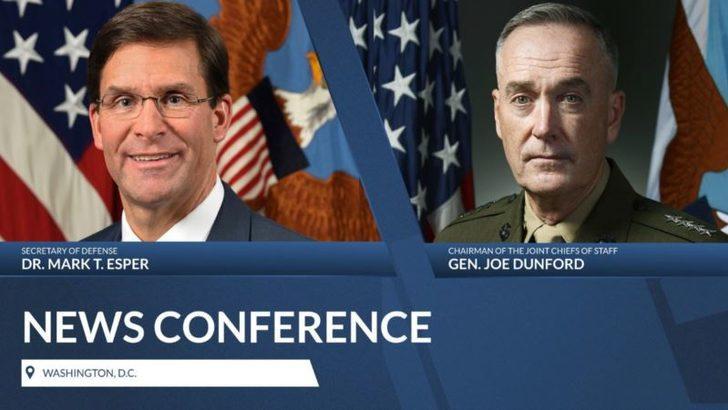ABD Savunma Bakanı'dan Türkiye'ye Mesaj: 'Ya S-400 Ya F-35'