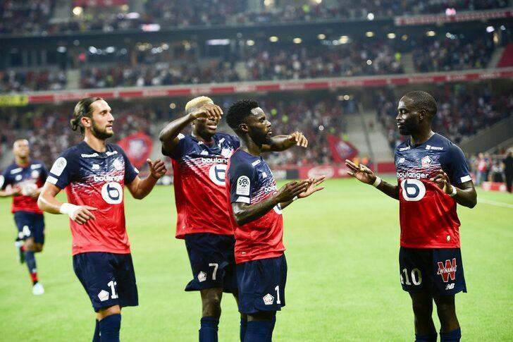 Lille 3 - 0 Saint-Etienne (Ligue 1)