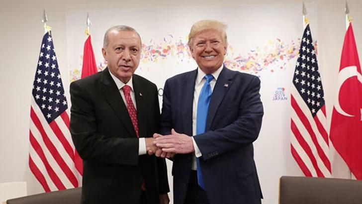 Cumhurbaşkanı Erdoğan Trump ile görüştü!