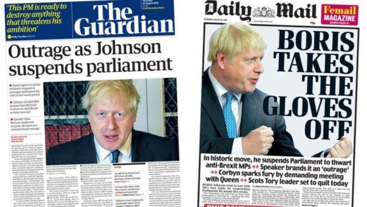 İngiltere'de parlamento krizi manşetlerde: Demokrasiye hakaret