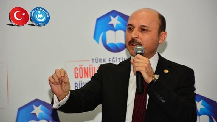 """Türk Eğitim-Sen Genel Başkanı Geylan: """"Bin yıldır buradayız, binlerce yıl daha burada kalacağız"""""""