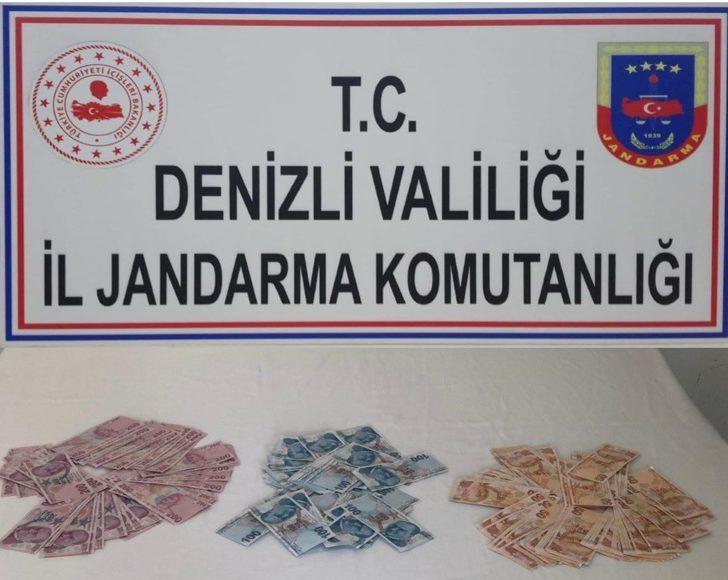 Denizli'de 29 bin 750 lira değerinde sahte banknot ele geçirildi