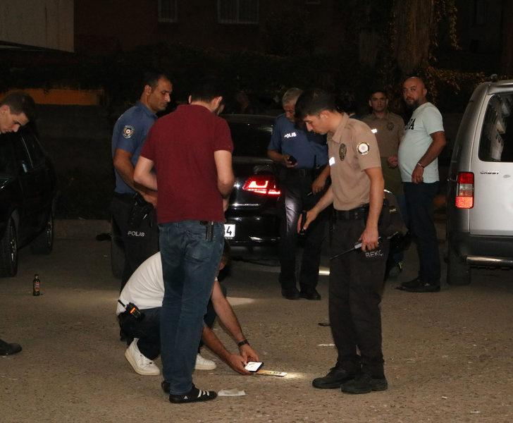 17 yaşındaki çocuk, balkondan bekçilere ateş etti
