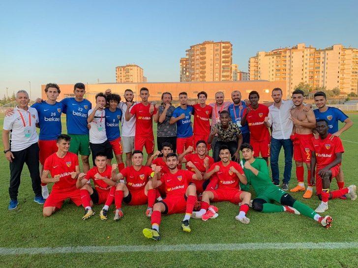 Kayserispor U-19 takımının konuğu Galatasaray