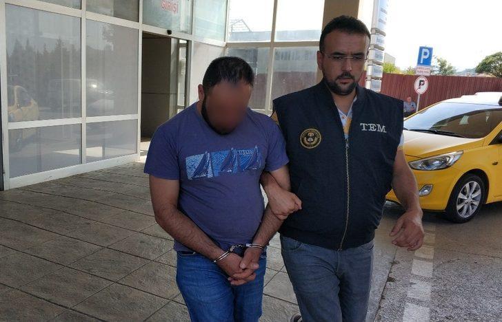 DEAŞ'tan gözaltına alınan yabancı uyruklu şahıs adliyede