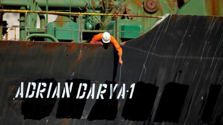 Serbest Bırakılan İran Tankerinin Rotası Yakından İzleniyor