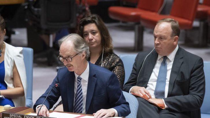 BM Suriye Özel Temsilcisi: 'Anayasa Komisyonu Eylül'de Kurulabilir'