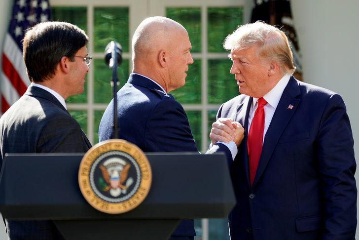 Trump'dan kritik hamle! Uzay savaşları başlıyor