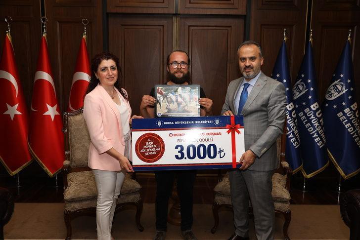 Türk Dünyası Ata Sporları Şenliği Fotoğraf Yarışması'nda DHA'ya ödül