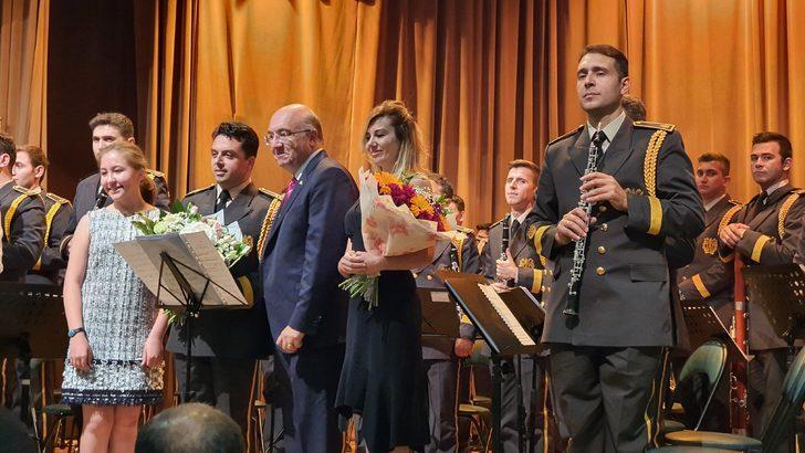 TSK Armoni Mızıkası, Moskova'da Zafer Bayramı coşkusu yaşattı
