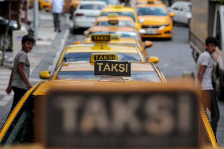 "Taksiciler ""Ayar"" kuyruğunda..."