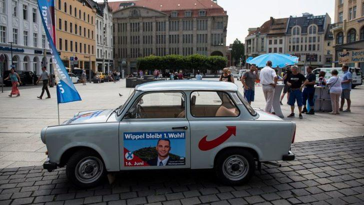 Almanya'nın İki Eyaletinde Seçimlerde Aşırı Sağcılar Galip Gelebilir