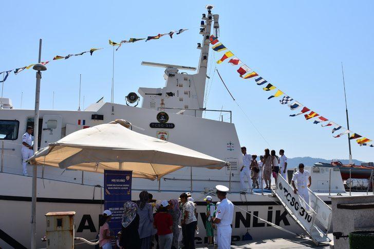 Marmaris'te TCSG-310 Hücum Botu halka açıldı