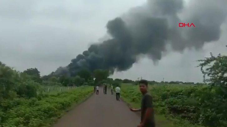 Hindistan'da kimya fabrikasında yangın: 10 ölü.. İçeride mahsur kalanlar var