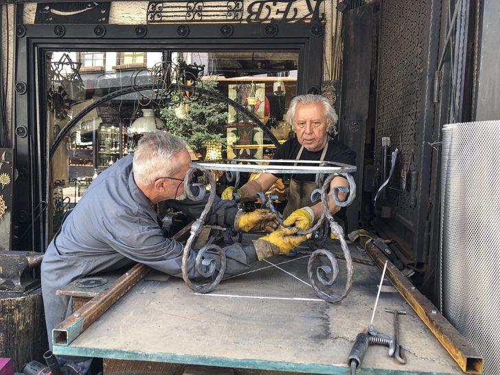 Demir süsleme sanatının son temsilcileri