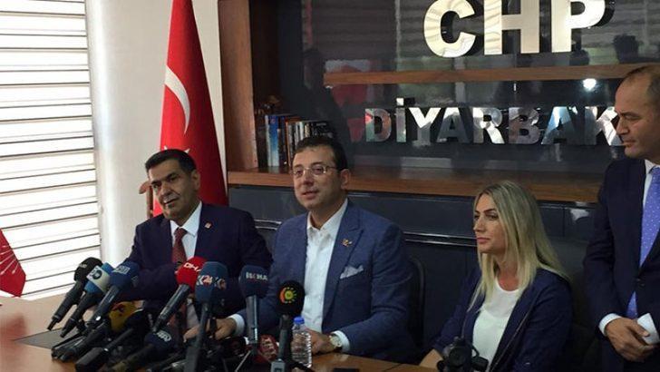 Ekrem İmamoğlu'ndan Diyarbakır'da 'kayyum' mesajı