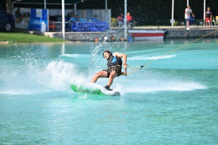 Su Kayağı Kupası heyecanı sürüyor