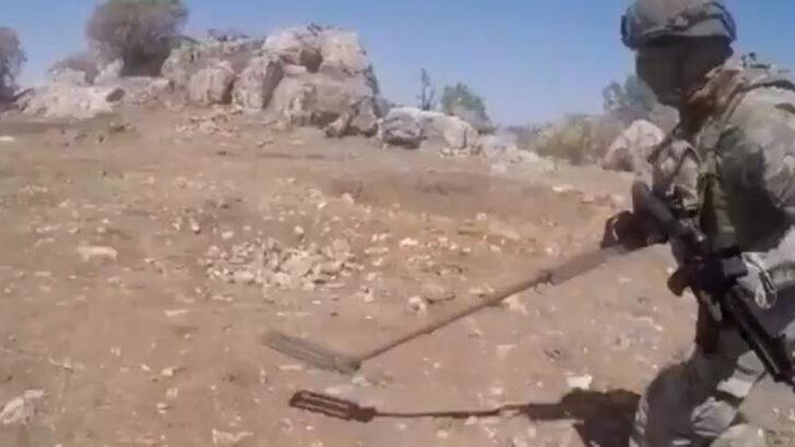 Pençe-3 Harekâtı'nda hain tuzak imha edildi! Bakanlık görüntüleri yayımladı