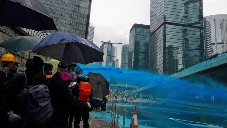 Hong Kong'da Gösteriler 13. Haftasında
