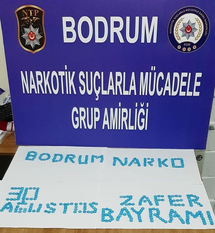 Bodrum'da uyuşturucu hap operasyonu