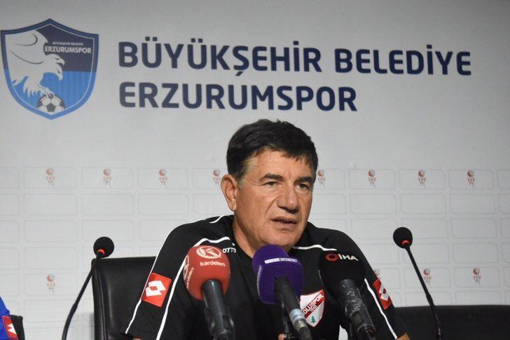 BB Erzurumspor - Boluspor maçının ardından