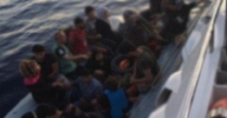 Muğla'da 18 düzensiz göçmen yakalandı