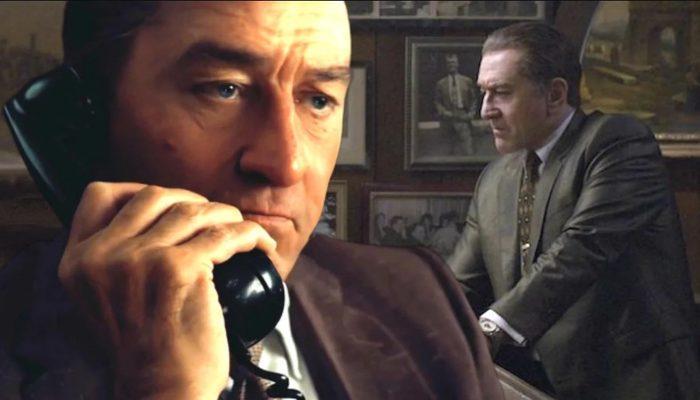 The Irishman'de Robert De Niro'yu böyle gençleştirdiler