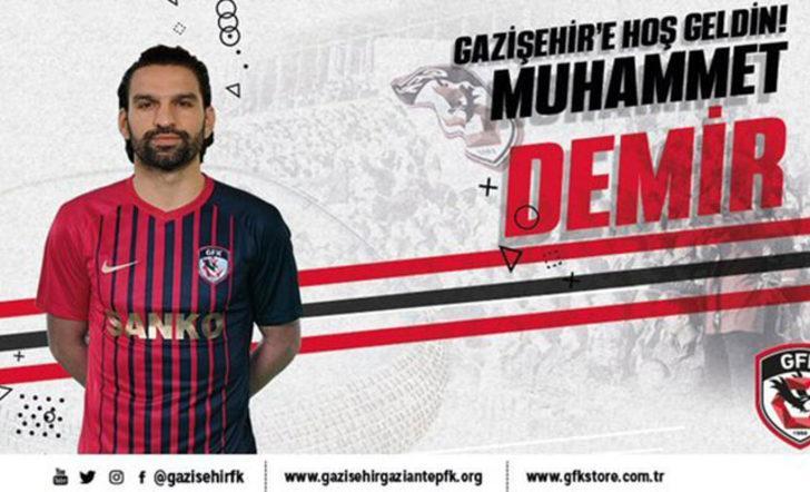 Gazişehir Gaziantep, Muhammet Demir'i açıkladı
