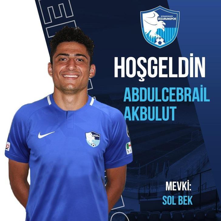 Abdulcebrail Akbulut, BB Erzurumspor'da!