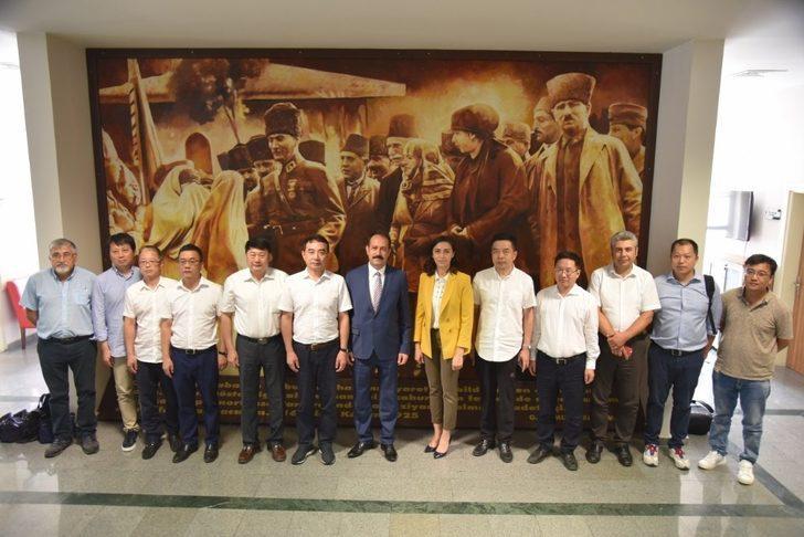 Çinli bürokrat ve yatırımcılar Osmaniye'de