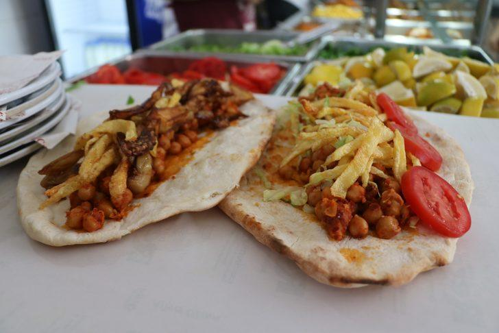 Gastronomi kentinin vazgeçilmez lezzeti nohut dürümü