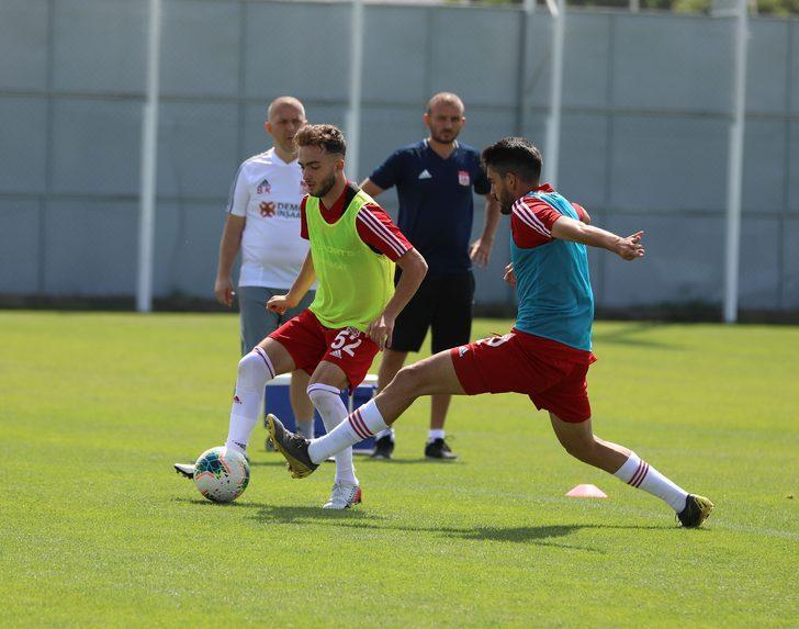 Sivasspor'da Başakşehir hazırlıklar sürüyor