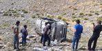 Bahçesaray'da trafik kazası; 1 ölü, 1 yaralı