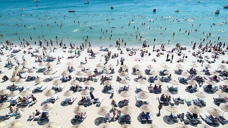 Turistik tesislerin temmuzdaki doluluk oranı yüzde 75 oldu