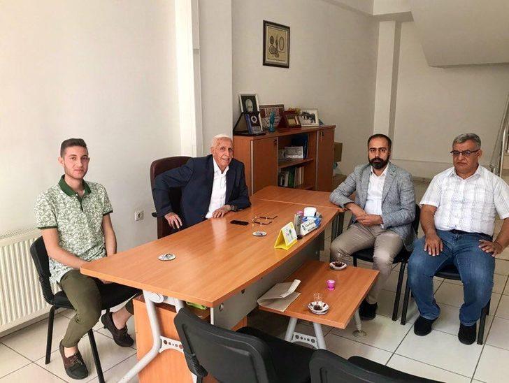 Rektör Şevli'den hayırsever iş insanı Haydaroğlu'na ziyaret