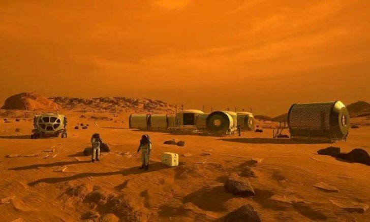 Mars'ta yaşanan devasa çığ görüntüleri hayrete düşürdü